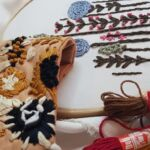 Floral Embroidery Wall Hanging Workshops